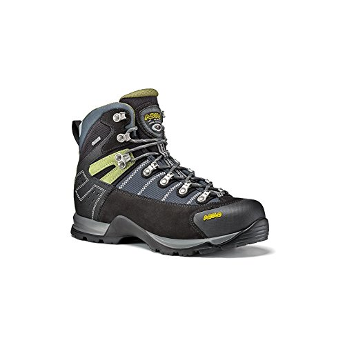 Fugitive Gunmetal Nero Asolo Boots Walking 13 UK GTX Black AUFFwq