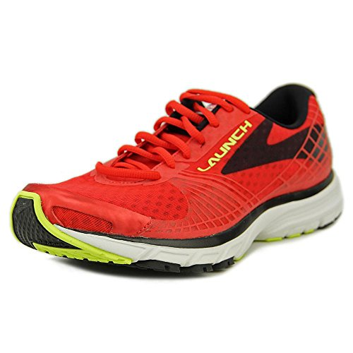 Brooks Launch 3, Chaussures de Running Homme Rouge - Rot (Highriskred/Black/Nightlife)