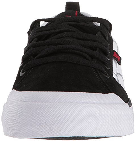 Dc Mens Evan Smith Skateboarden Schoen Zwart / Wit / Rood