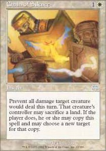 Magic: the Gathering - Chain of Silence - Onslaught - Foil