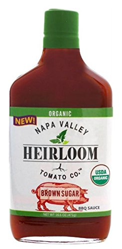Soy Sauce Baby Costume (Organic Heirloom BBQ Sauce - Brown Sugar Flavor - Napa Valley Heirloom Tomato Co. 16.6oz)