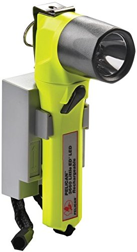 Pelican Little Ed 3660 Rechargeable Flashlight, with Battery Pack, Yellow, 3660-014-245