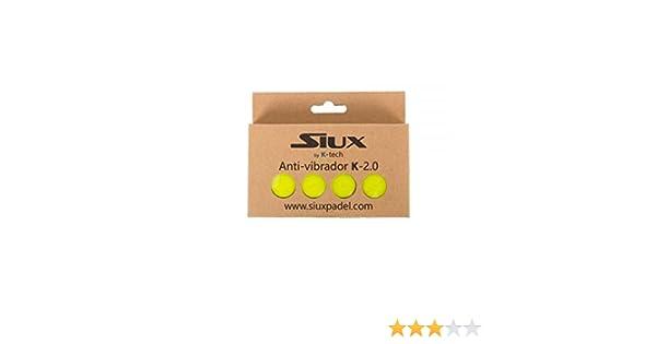 Siux ANTIVIBRADOR VIBRASTOP K-2.0 Amarillo: Amazon.es: Deportes y aire libre
