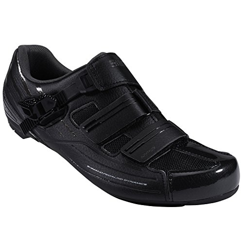 Shimano Men's RP3 Black Road Cycling Shoes - 44 - WIDE