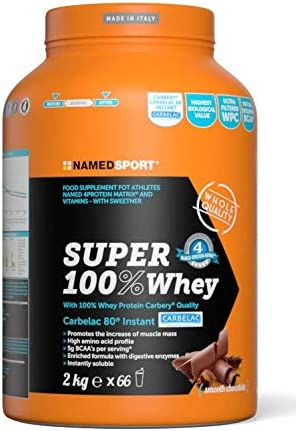 Named Sports Smooth Chocolate Flavoured Super 100% Whey Protein Powder 2kg:  Amazon.co.uk: Health & Personal Care