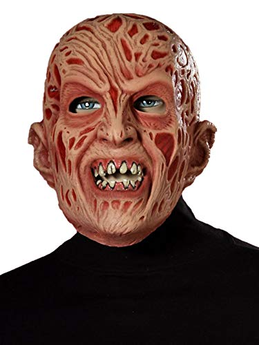 Forum Novelties Men's Freddy Vinyl Adult Mask, beige, Standard -