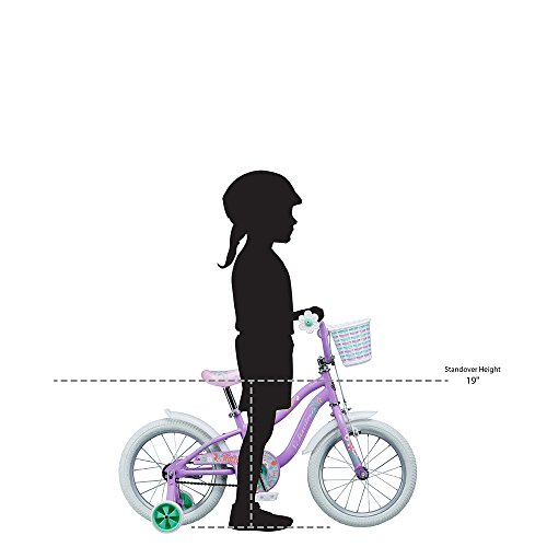 Schwinn Girl's Jasmine Bicycle, 16'', Purple by Schwinn (Image #7)