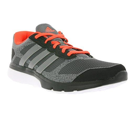 adidas Turbo 3.1M - Zapatillas para hombre Gris / Negro / Rojo