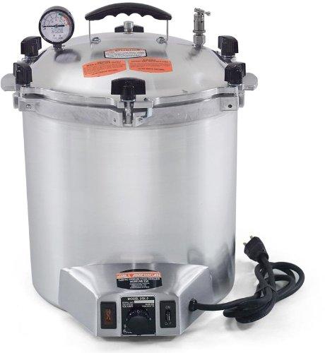 All-American Electric 14.5 Quart 1050 Watts/8.75 amps Sterilizer