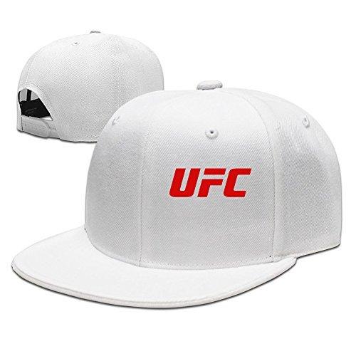 Hittings – Gorra unisex Cool Snapback con el logotipo rojo de UFC, color blanco clásico: Amazon.es: Ropa y accesorios