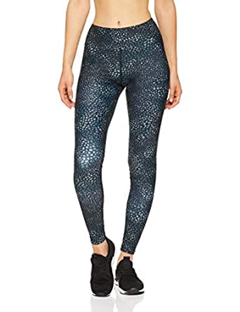 Dharma Bums Women's Animal Love High Waist Printed Yoga Legging - Full Length, Multicoloured, Extra Small