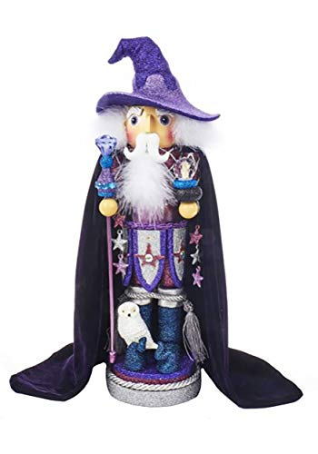 "Kurt S. Adler 18"" Hollywood Purple Wizard Nutcracker from Kurt Adler"