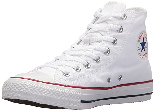 Converse Unisex Chuck Taylor All Star HI Basketball Shoe (4 M US, Optical White) by Converse