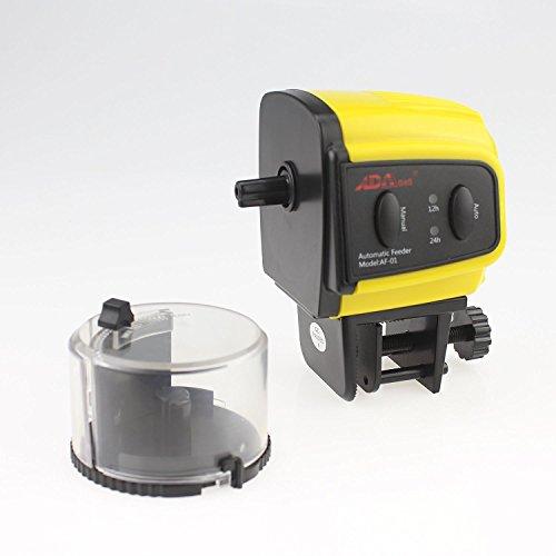 Ada automatic fish feeder aquarium tank auto fish food for Fish feeder timer