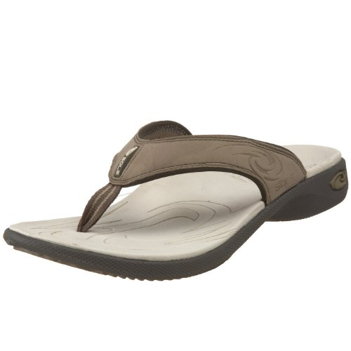 SOLE Men's Sport Flip Flop,Dune,9 M US
