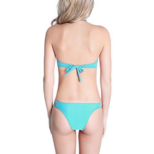 Bikini Blu Moda Benda Donne Giocoso Xinvision Beachwear Costumi Per Bagno Bagno Estate up Sling Le Costume Chic Imbottito Da Da Push Rw0rR