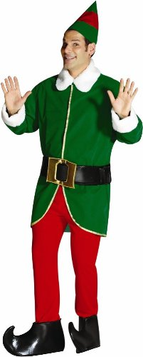 [Rasta Imposta Elf, Green/Red, One Size] (Green And Red Elf Costumes)