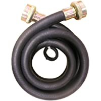 LASCO 16-1702 Rubber Washing Machine Hose with 3/4-Inch Female and Straight Ends, 3-Foot