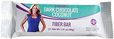 JJ Virgin - Dark Chocolate Coconut High Fiber Bars (Box of 12)