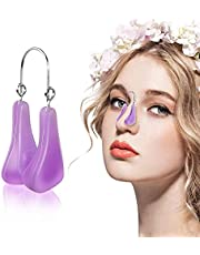 Nose Shaper Lifter Clip, Pain-Free Soft Silicone Corrector Nose Shaper Clip, Professional Nose Beauty Up Lifting, Nose Bridge Straightener Up Tool for Man And Women