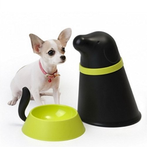 Small Dog Bowl with Storage Pupp Pet Food