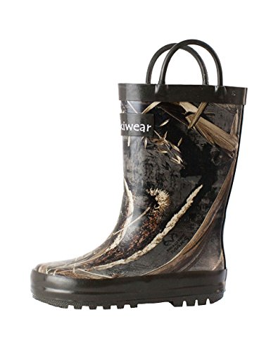 [Children's Rubber Rain Boots, Max-5 Camo 13] (Next Kids Boots)