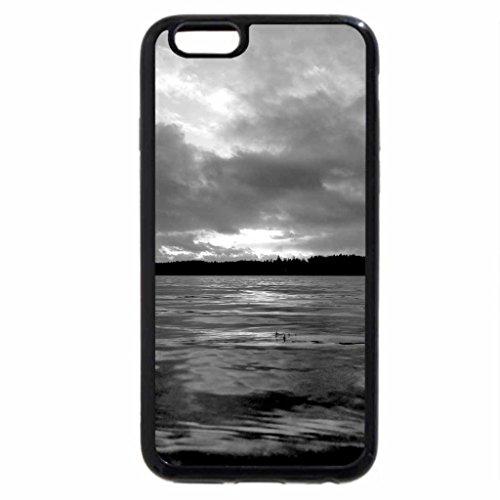 iPhone 6S Case, iPhone 6 Case (Black & White) - Finland
