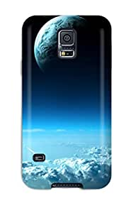 Premium Planets Back Cover Snap On Case For Galaxy S5