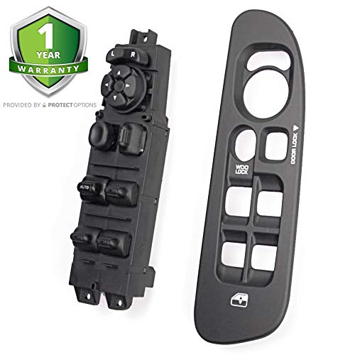 Master Power Window Switch and Bezel 56049805AB for 2002-2009 Dodge Ram 1500 2500 3500, 2001-2004 Dodge Dakota, 2001-2003 Dodge Durango,2005-2009 Dodge Sprinter 2500 3500