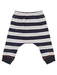 Blue Banana Baby Boys Harem Pants, Navy Stripe, 9 Months
