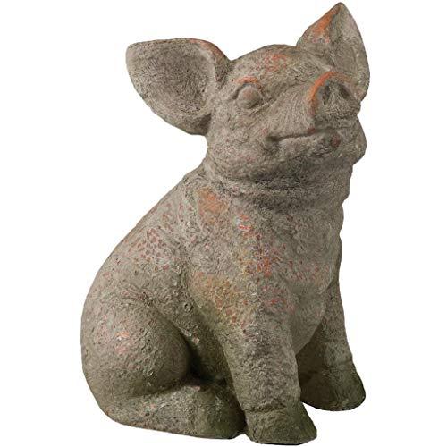 Regal Pig Garden Statue ()