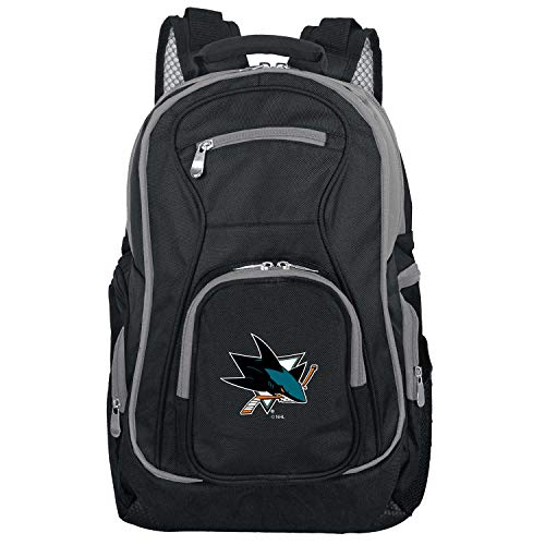 Price comparison product image NHL San Jose Sharks Colored Trim Premium Laptop Backpack