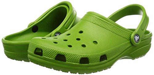 crocs 10001 Crocs Unisex Classic Clog Parrot Green Clog/Mule Men's 4, Women's 6 Medium
