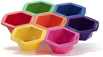 Sculpby Bowls de Tinte de Colores - 7 Bolos