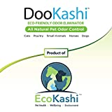 DooKashi Rabbit Bedding Odor Absorber - All Natural Probiotic Powered Rabbit Litter Box Additive Extender and Odor Eliminator - Eco-Friendly Non-Toxic Small Animal Bedding Treatment, 2lb