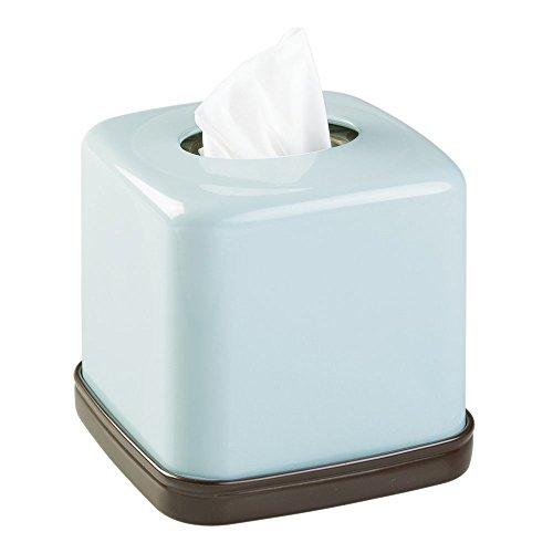 mDesign Facial Tissue Bathroom Countertops product image