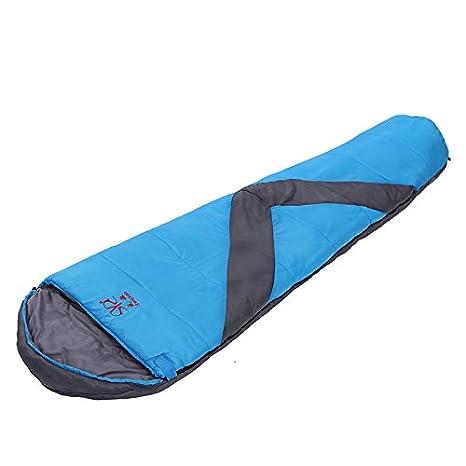 SUHAGN Saco de dormir Sacos De Dormir Al Aire Libre Stout Negro Saco De Dormir En