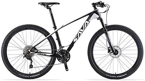 SAVANE Bicicleta Montaña,DECK6.0 Bicicleta de montaña Carbono ...