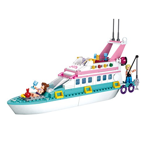 Sluban Pink Dream Series Blocks Yacht Bricks Toy – for sale  Delivered anywhere in USA