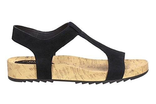 Casual Sandales Femme Zelby Zena Noir Clarks Pour En Daim q6H477