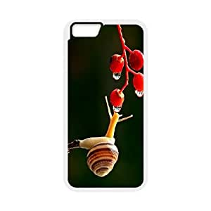 """UNI-BEE PHONE CASE For Apple Iphone 6,4.7"""" screen Cases -Snail-CASE-STYLE 18"""