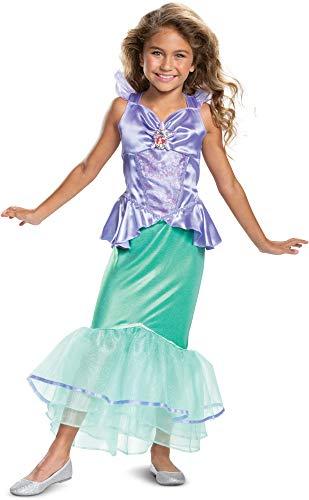 Disney Princess Ariel Classic Girls' Costume, Teal
