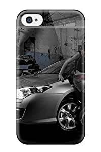Perfect Car Paint Case Cover Skin For Iphone 4/4s Phone Case