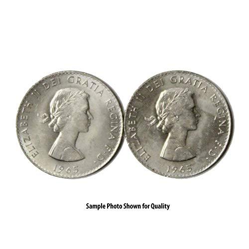 1965 Elizabeth II Winston Churchill Commemorative Crown 1 Crown XF/AU
