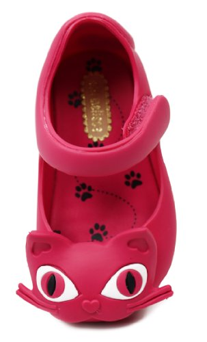 Melissa Girls Mini Ultragirl II Pink Synthetic Flat Shoes 9