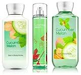 Bath & Body Works Cucumber Melon Gift Set, Body