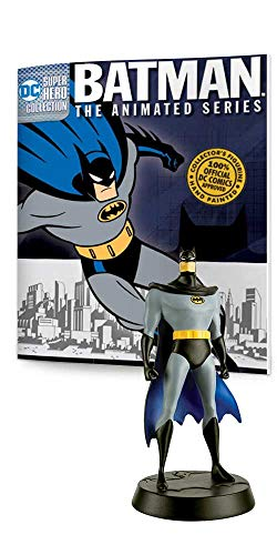 Eaglemoss Batman The Animated Series DC Super Hero Collection #1: Batman Polyresin Figurine ()