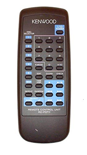 (Kenwood Remote Rc-p0711 Cd-406 Cd-403 Cd-404 Cd406 Cd403 Cd404)
