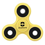 : Bluehorn figit 360 Spinner Fidget Toys [3D Figit] EDC Focusing Focus Toy for Kids & Adults - Best Stress Reducer Relieves ADHD Anxiety and Boredom Ceramic Cube Bearing(yellow)