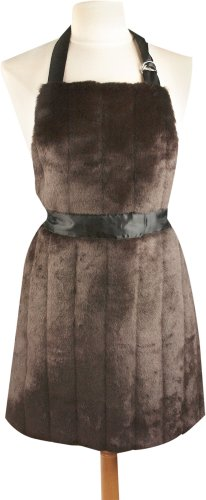 Manual Siberian Fur Apron, 20 X 28-Inch, -